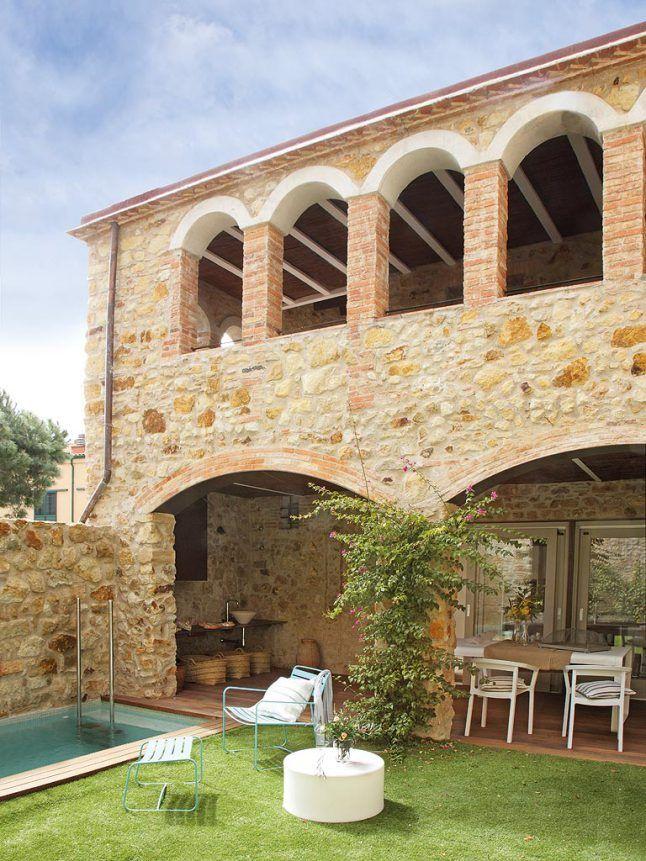 Casa contempor nea respeitando o passado case rustiche for Arredamento case antiche