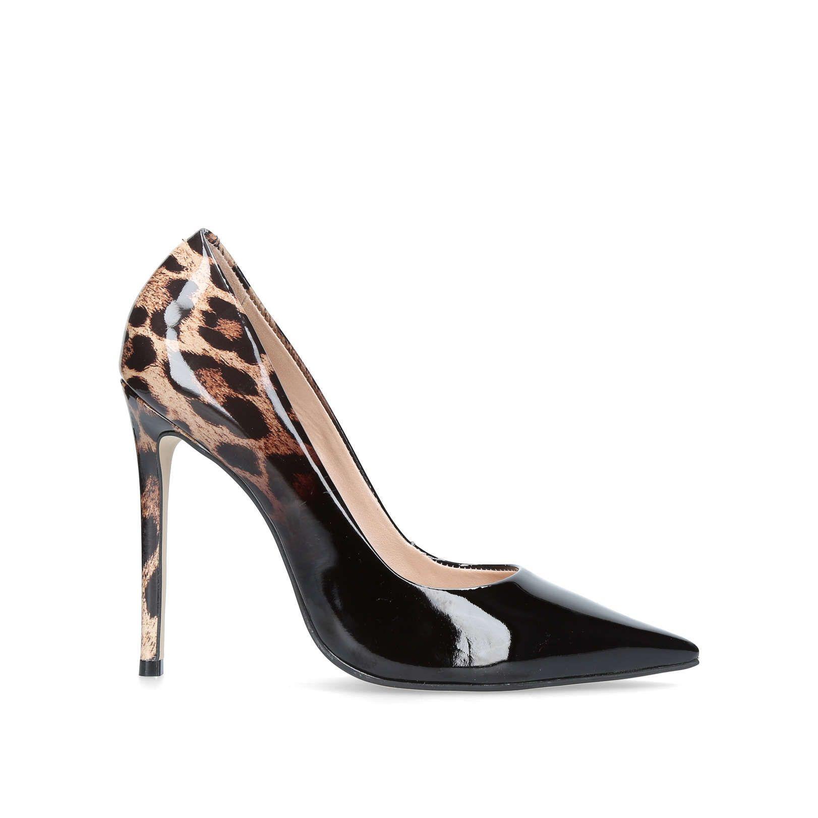 Shop ALICE Black High Heel Court Shoes