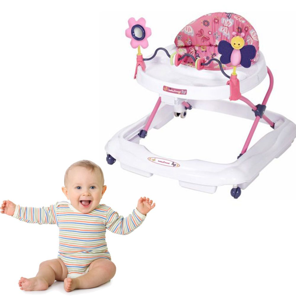 Baby Walker Seat Infant Toddler Activity New Toy Adjustable Safety Up To 30 lbs #BabyTrend