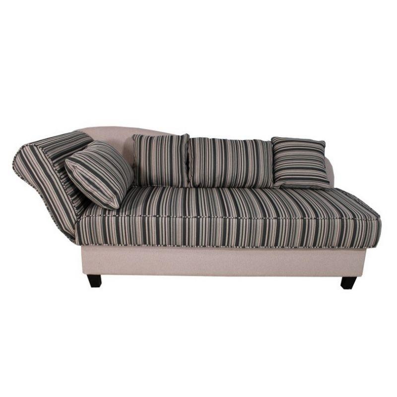 Sofa Mit Streifen Couch Wohnzimmer Landhausstil