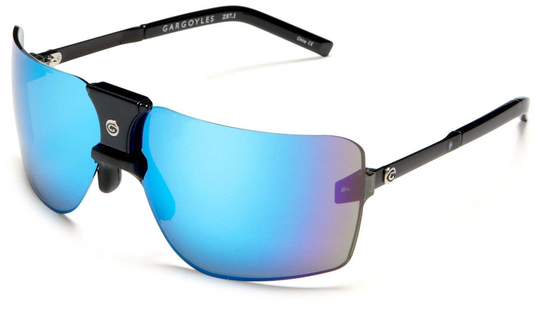 0d033974cf Gargoyles Ansi Classic Sunglasses Black Frame   United Nations ...