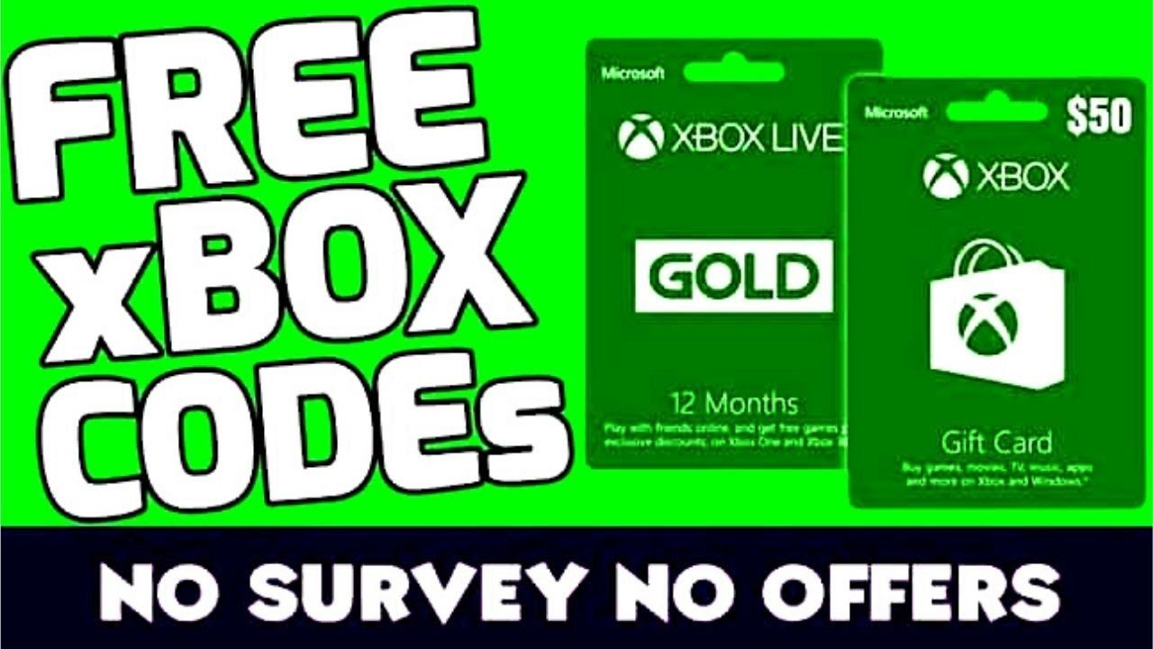 Codes xbox free no surveys live Invest in