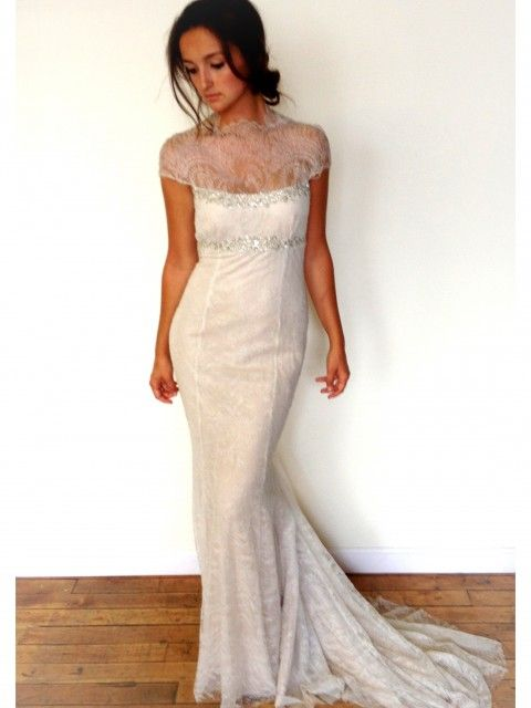 Used Vera Wang Saks Fifth Avenue Sample Sale Wedding Dress Size