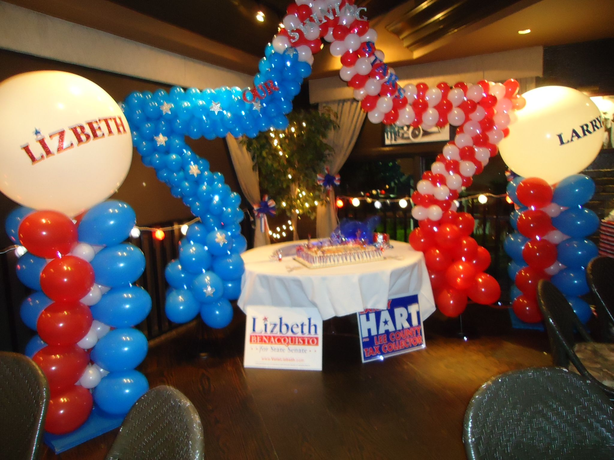 Campaign Time Balloon Decorations Balloon Decorations