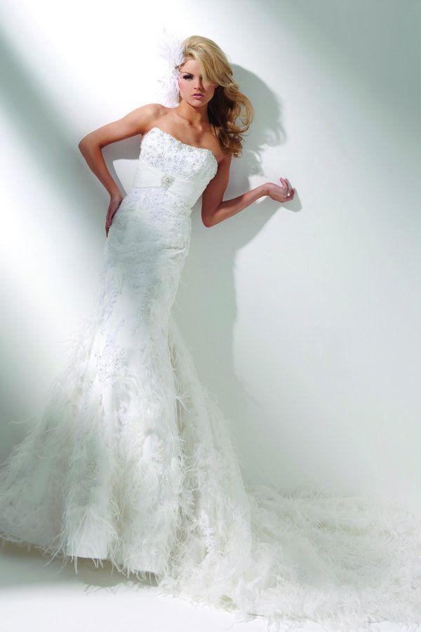 Tony Bowls Bridal T211276 Wedding Dresses Modern Wedding Dress