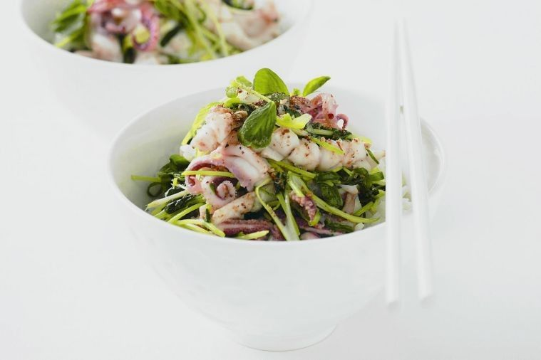 Squid is brought to life with aromatic Sichuan pepper in this simple stir-fry.