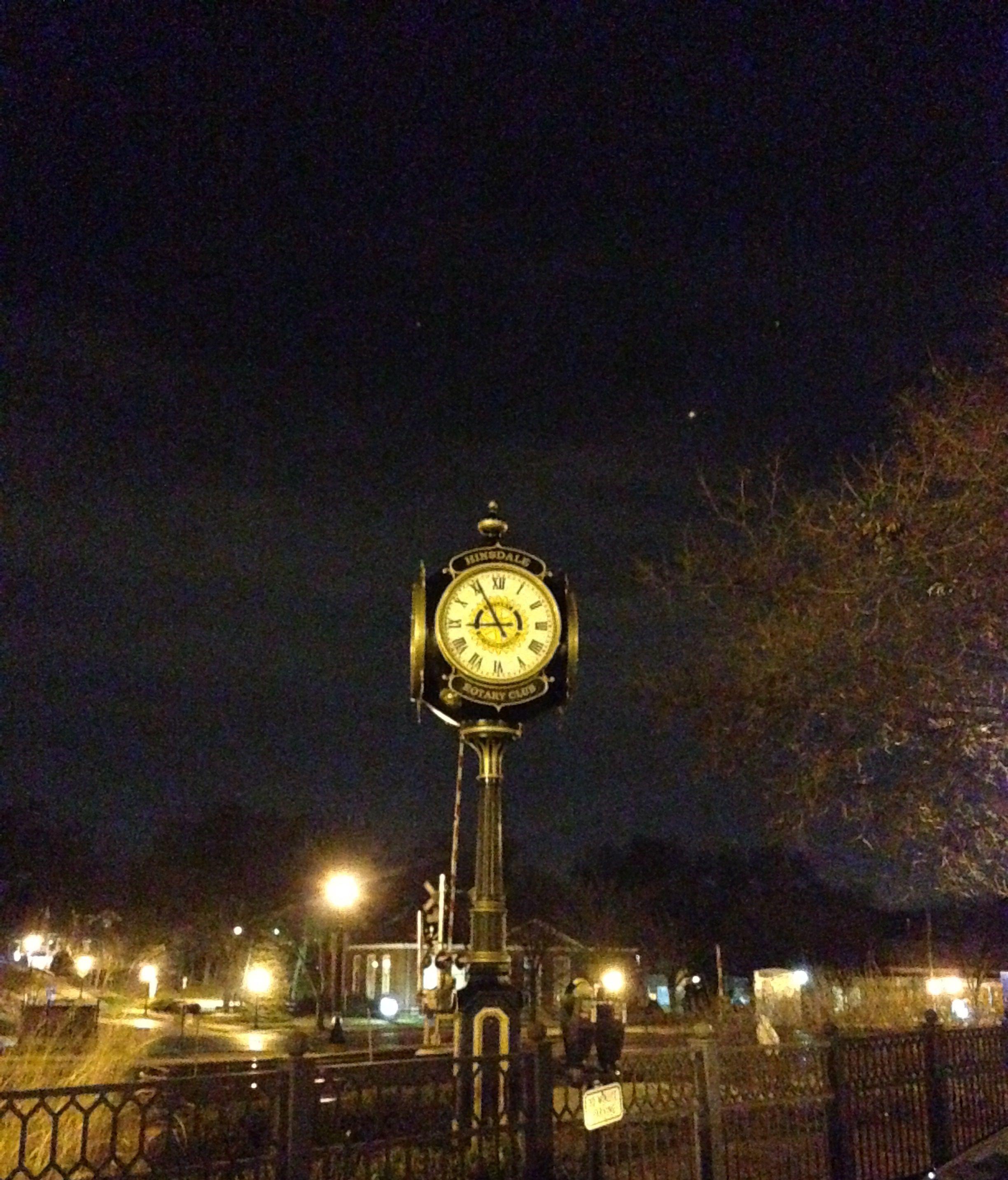 Clock Tower In Hinsdale Jessica Medina