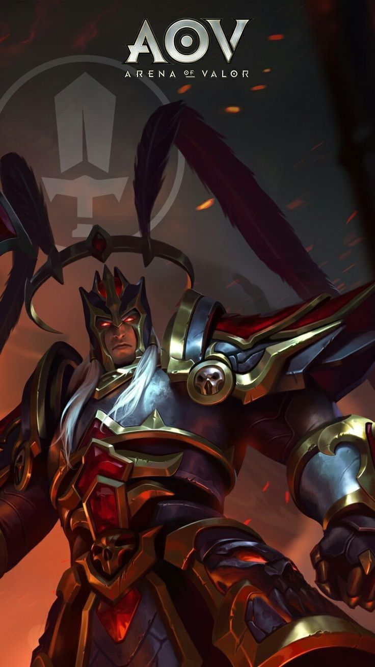 Lu Bu Dreadknight Skin Aov Arena Of Valor Wallpapers Pinterest Dynasty Warriors Hero And Mobile Legends