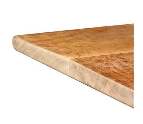 Table de salle manger bois de manguier brut 180 x 90 x - Table cuisine bois brut ...