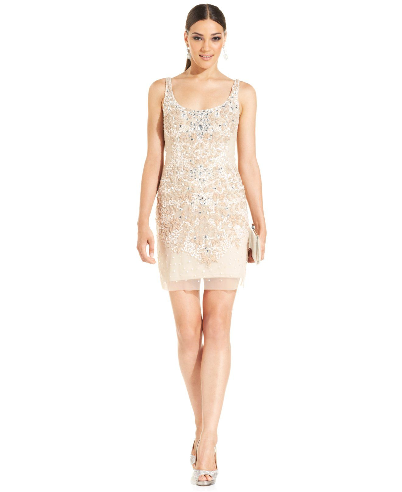Adrianna papell floral embellished sheath shop all wedding shop the latest styles of juniors dresses at macys check out our wide collection of chic dresses for all occasions including top designer brands and more ombrellifo Images