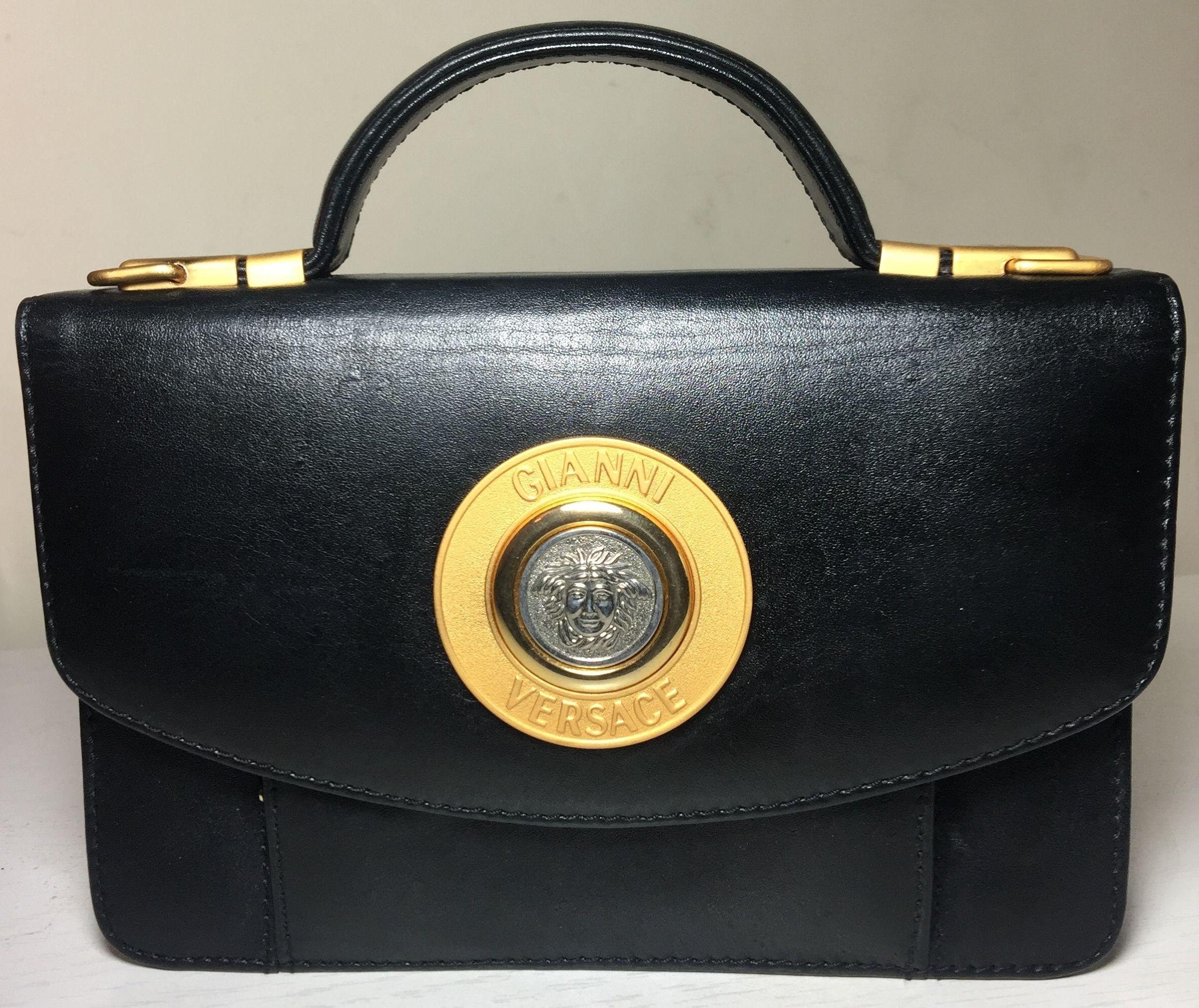 5c2ba04851 Gianni Versace 90s moc croc brown clutch/shoulder purse | Gianni Versace  80s & 90s