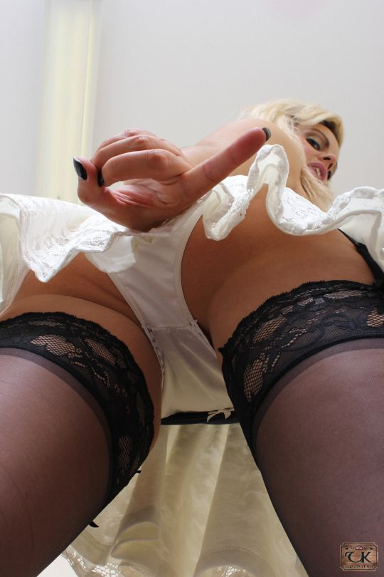 He masturbates with my nylon panties can