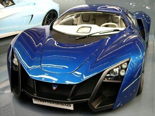 Great The Russian Super Car, Marussia.