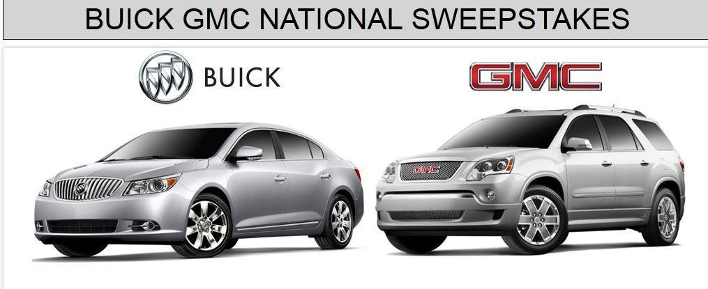 Sweepstakes Mix Buick Gmc Gmc Vehicles Buick