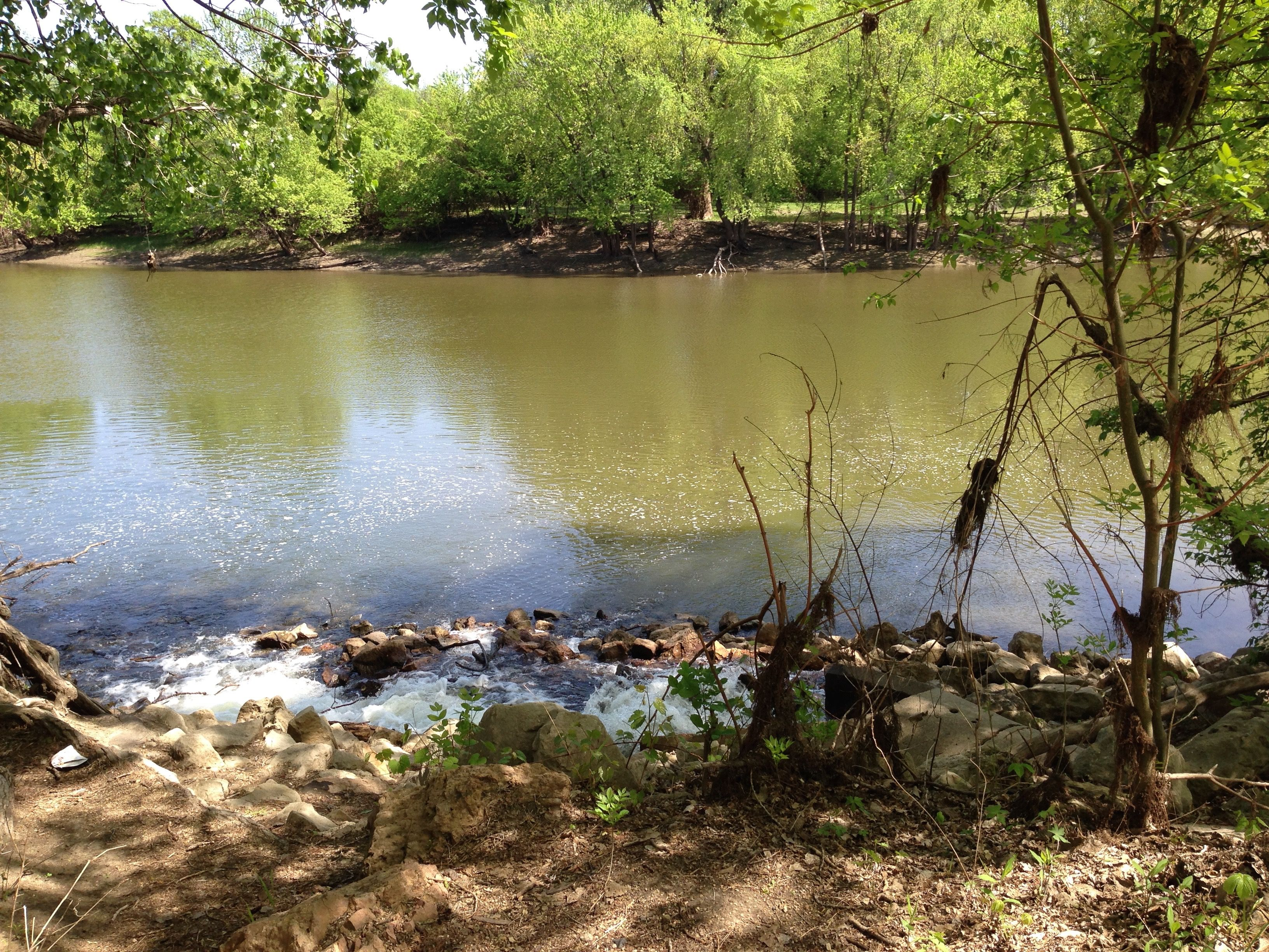 Fort Snelling hiking trail by the Minnesota River - beautiful to see and experience.