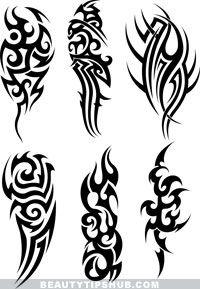 tribal tattoos ink