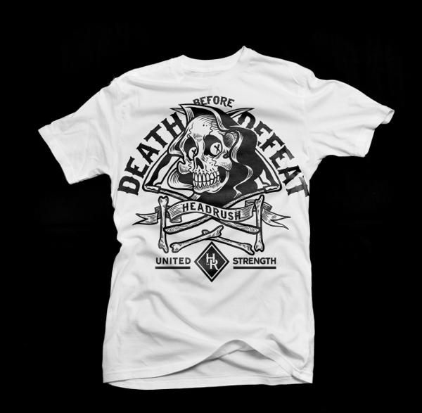 HEADRUSH serie01 by MEKA , via Behance | TEE | Pinterest | Camisetas