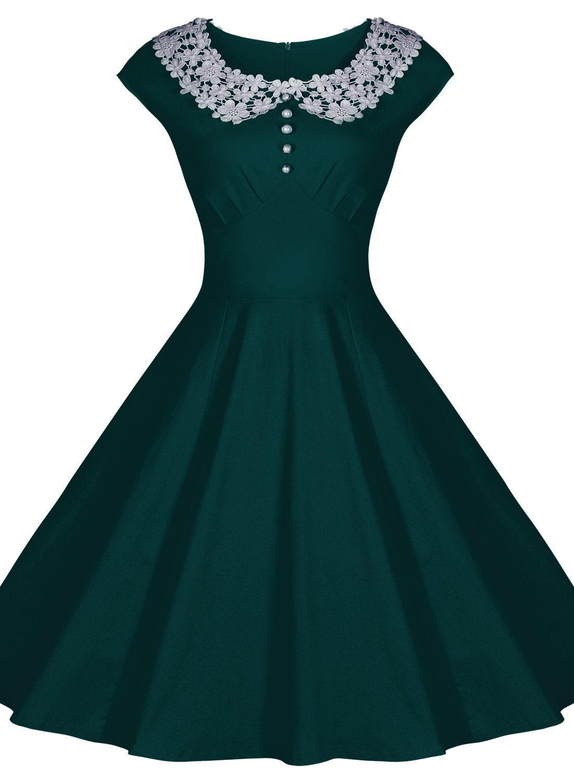 Miusol Womens Classy Vintage Audrey Hepburn Style 1940's