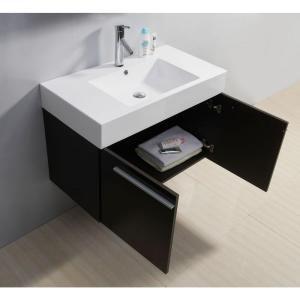 Single Basin Bathroom Vanity In Wenge