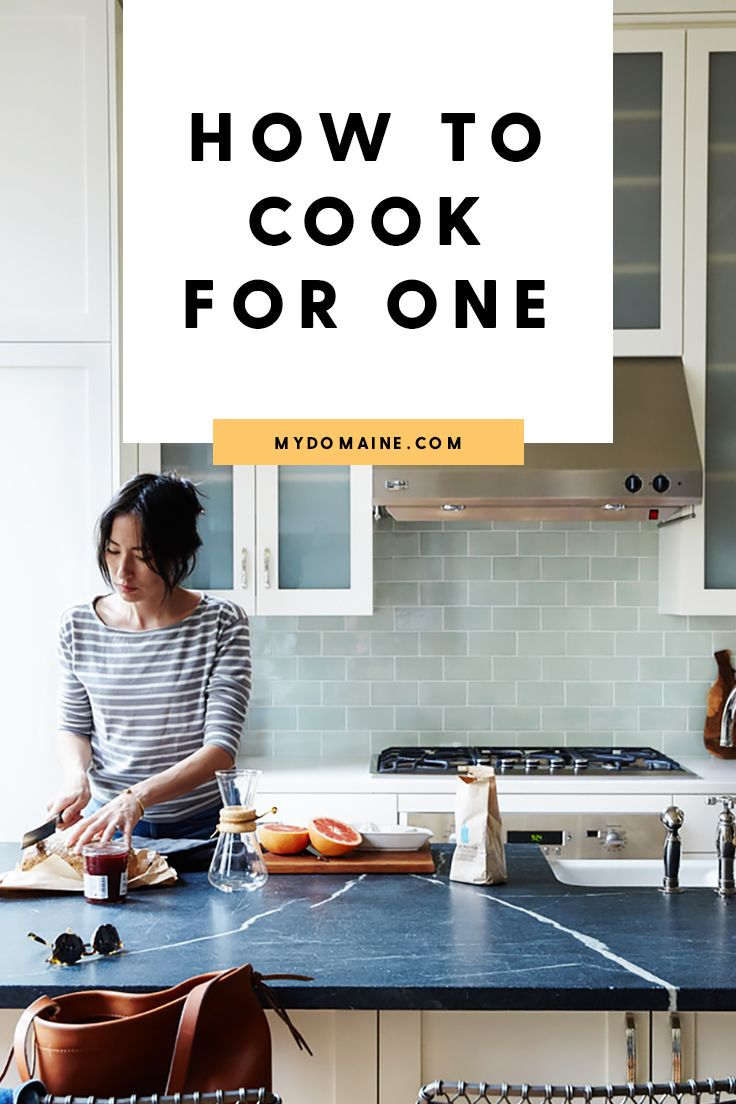 The Single Person's Guide to Cooking for One #cookingtips