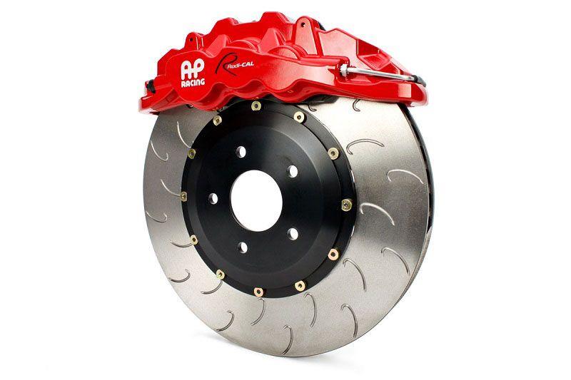 AP Racing By STILLEN Red Six Piston Caliper with J-Hook