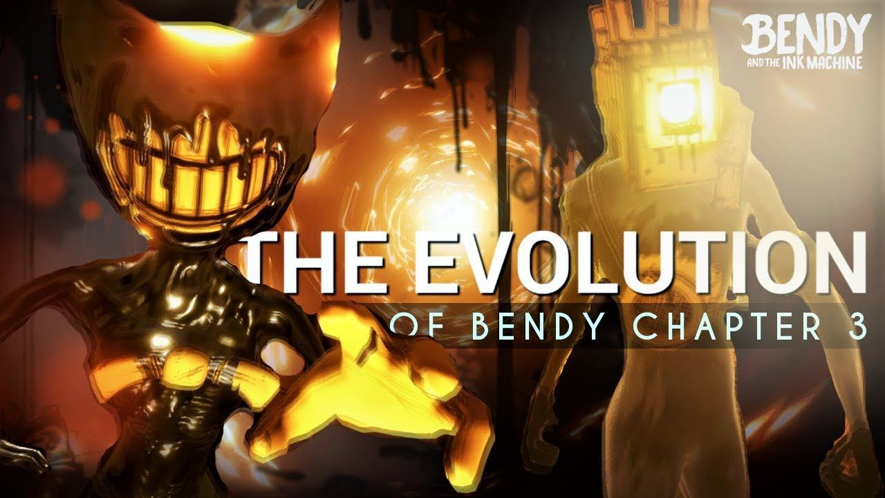 The Evolution Of Bendy Chapter 3 Bendy The Ink Machine - bendy and the ink machine chapter1 roblox