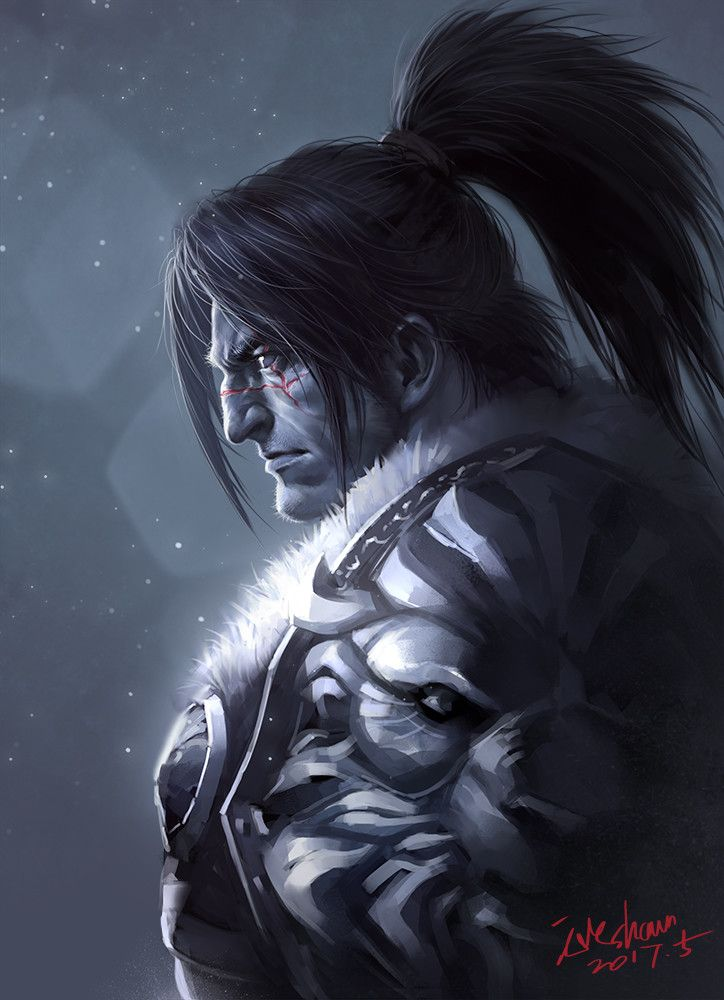 King Varian Wrynn 2017, Shawn Fox on ArtStation at https://www.artstation.com/artwork/X0Db3