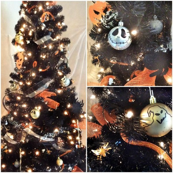 Nightmare Before Christmas Diy Ornaments With Images Halloween