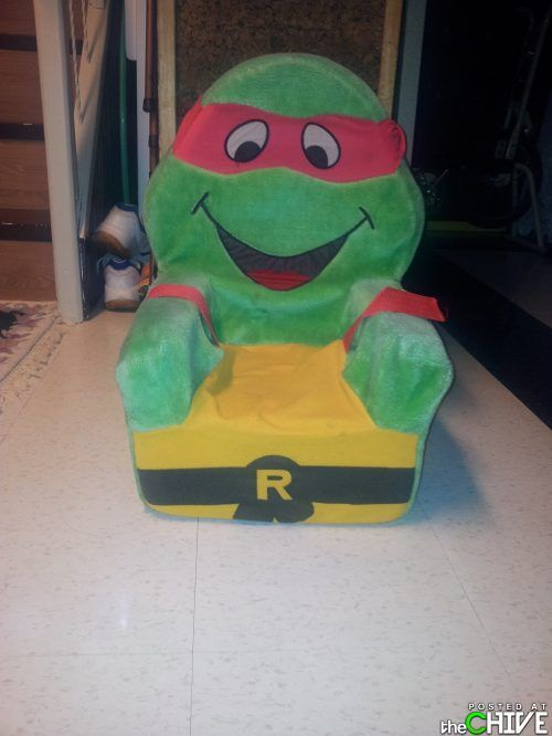 Ninja Turtles Chair Liberty Dining Chairs I Still Have Mine 90s Foam Turtle Children