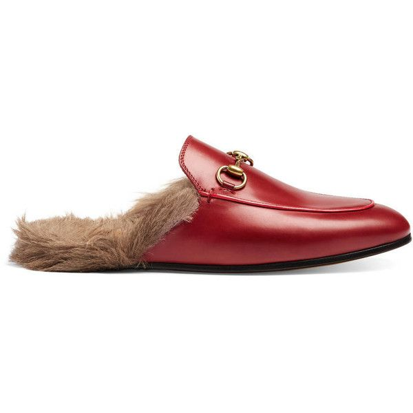 41a3445ca40 Gucci Princetown Leather Slipper (6
