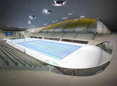 london aquatics centre 2012 by zaha hadid