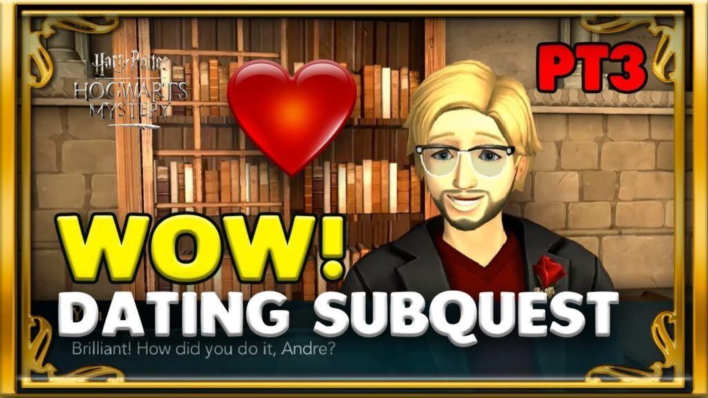 Andre Did Something To My Face First Date Pt3 Harry Potter Hogwarts Mystery Hogwarts Mystery Hogwarts Mystery