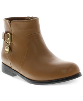 Michael Michael Kors Girls' or Little Girls' Emma Nora Ankle Booties