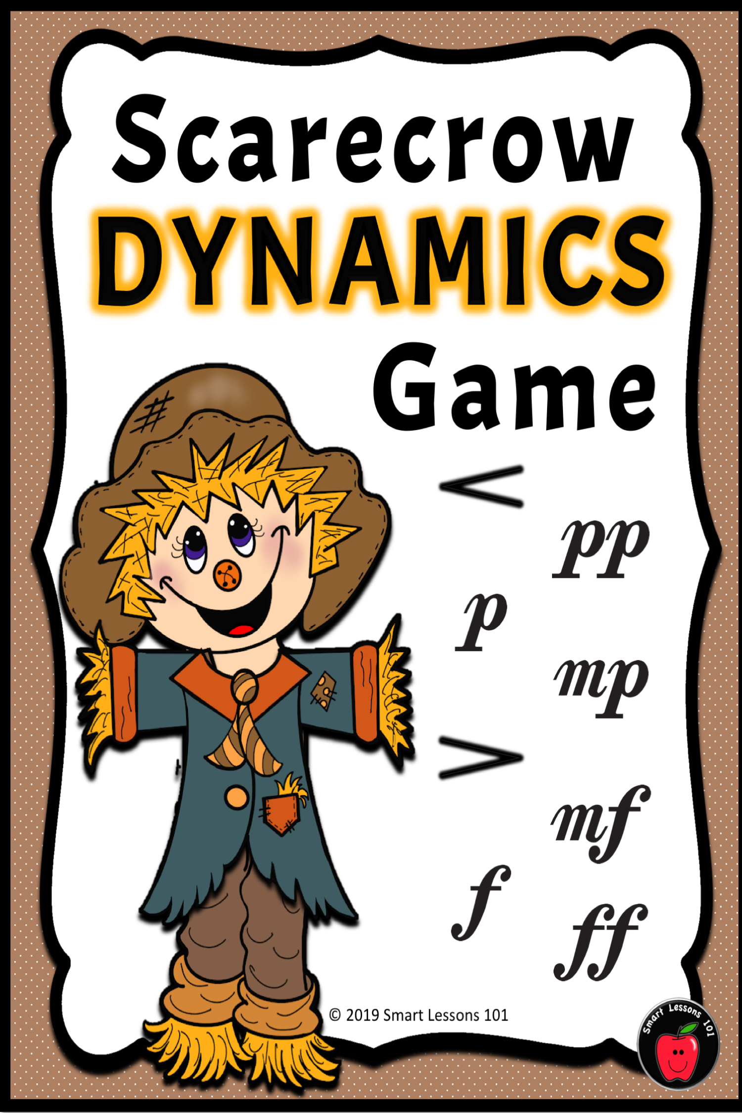 Fall Music Dynamics Game Scarecrow Dynamics Music