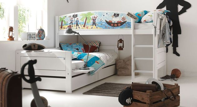 lifetime eck etagenbett pirat in 2019 kinderzimmer pinterest kinderzimmer kinder zimmer. Black Bedroom Furniture Sets. Home Design Ideas