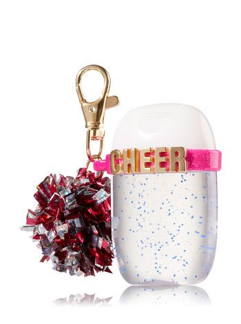 Pink Cheer Pom Pom Pocketbac Holder Bath And Body Works Bath N