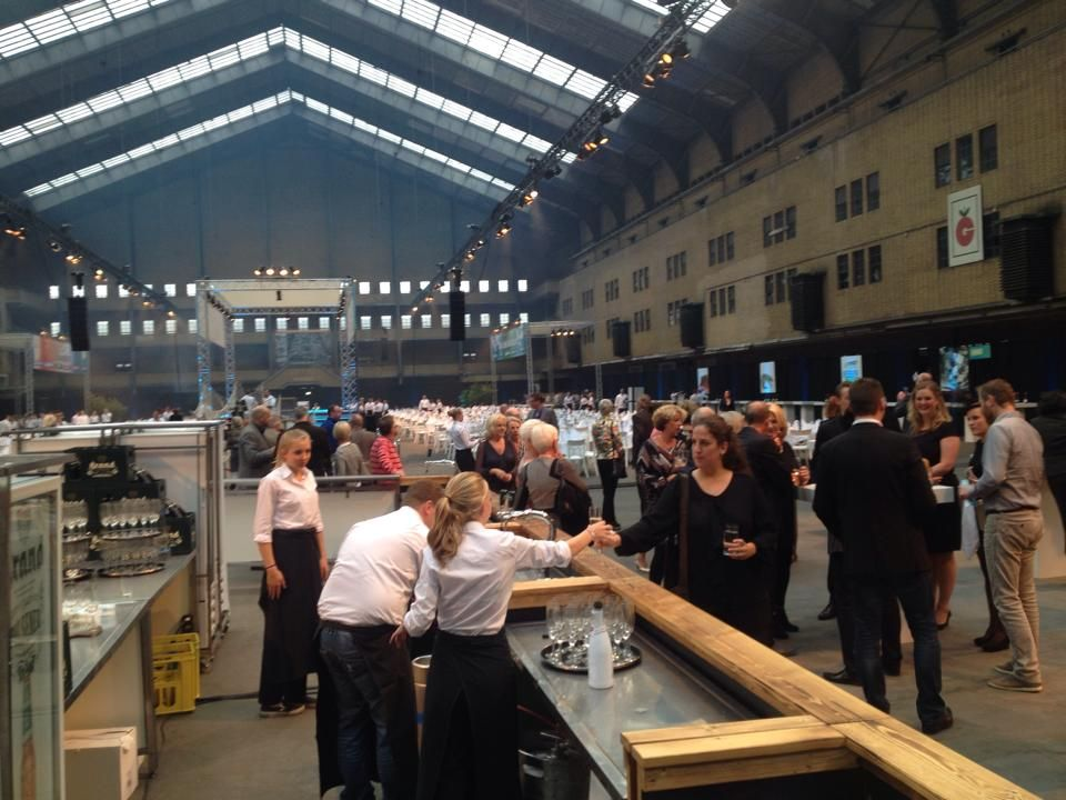 Amsterdam 2014: Participating at the 'Fish in Season festival' on behalf of Alaska Seafood Marketing Institute - Tourism Marketing Concepts