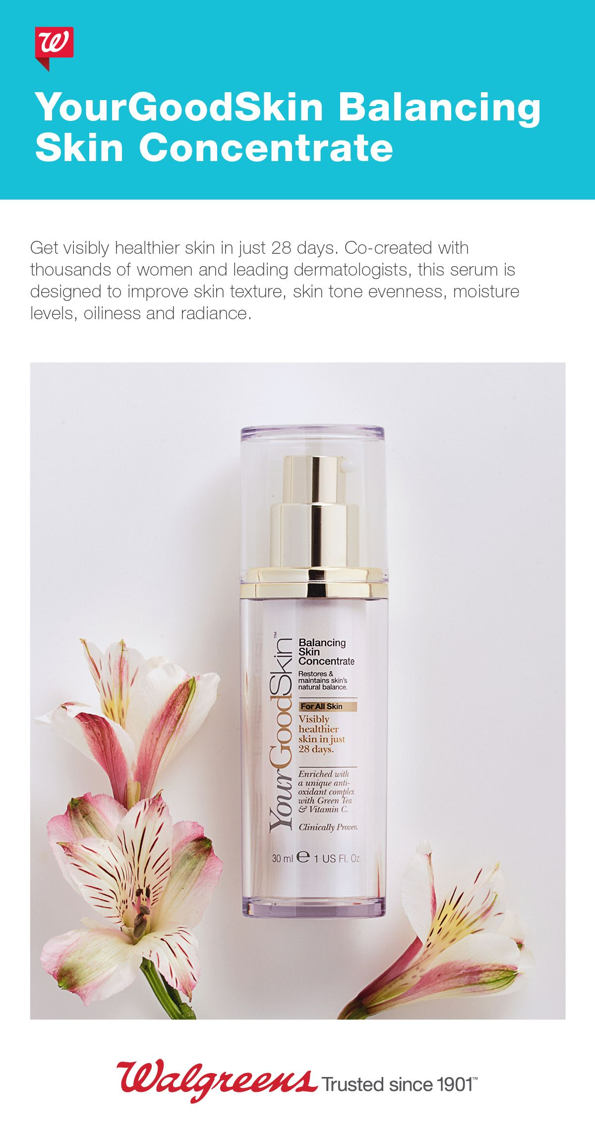 YourGoodSkin Balancing Skin Concentrate Beauty makeup