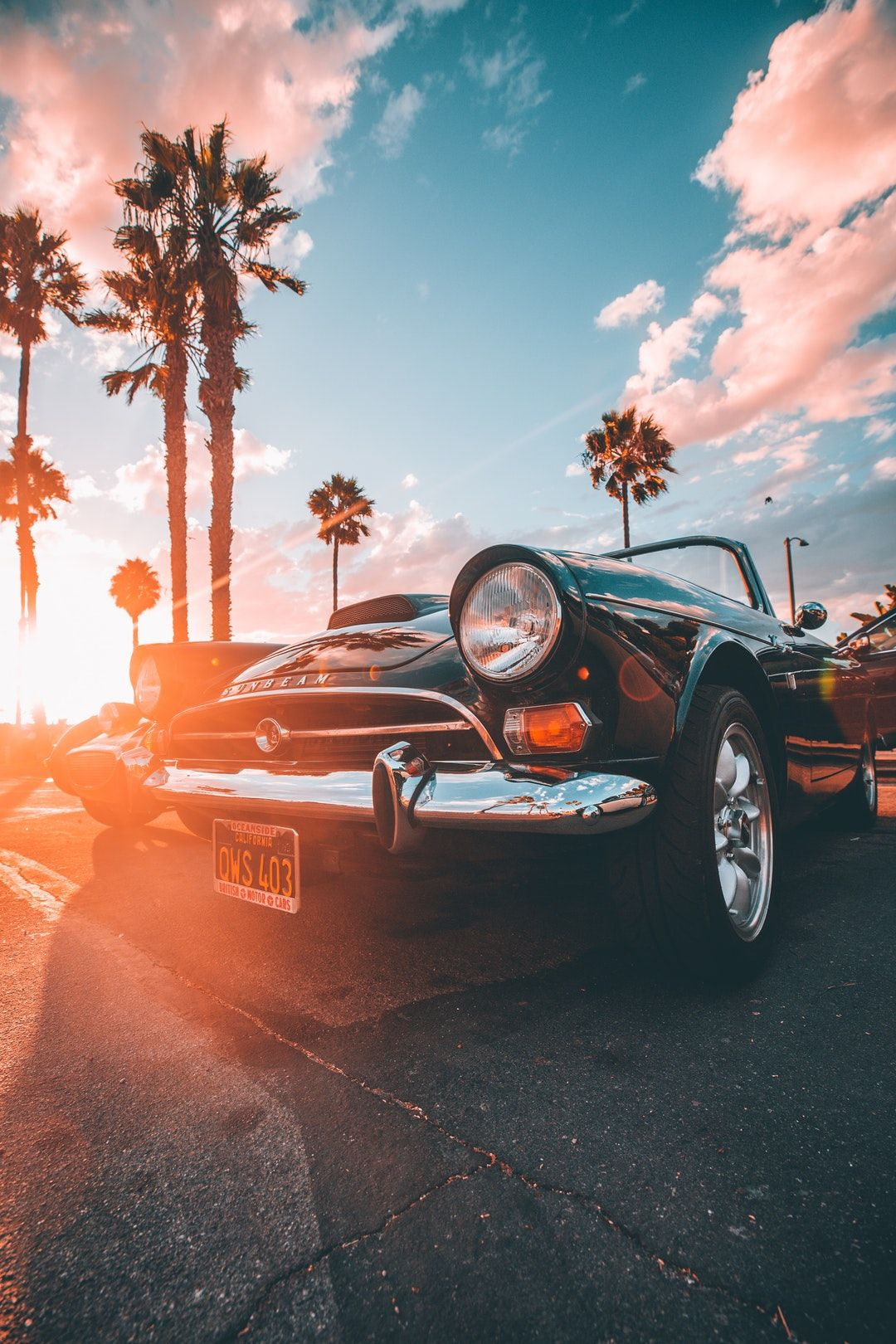 Car Sunbeam Golden Hour And Californium Hd Photo By Marion