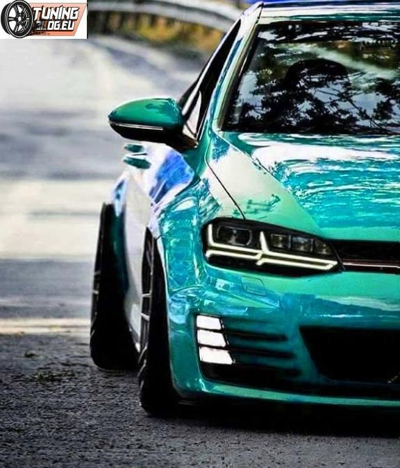 VW Golf MK7 Tuning Widebody 2017 Photo (Cool Cars Fast