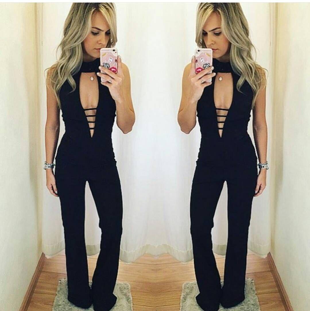 Macacão longo com detalhes , veste super bem, tecido incrível , bem firme! @phoenix.store  #temnaloja  Horario de atendimento: 9:00 ás 19:00