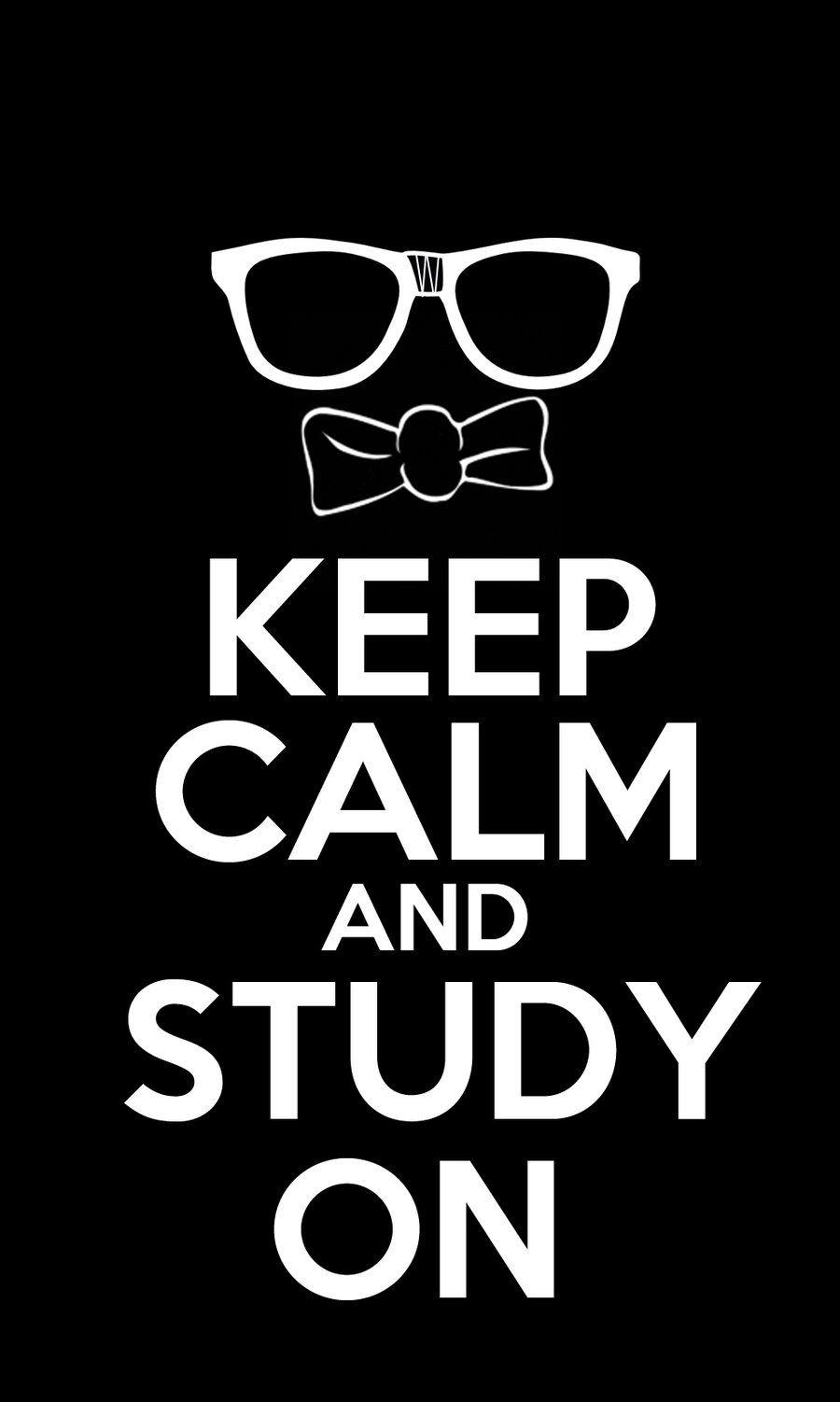 Keep Calm and Study On by kennychau on DeviantArt | keep ...