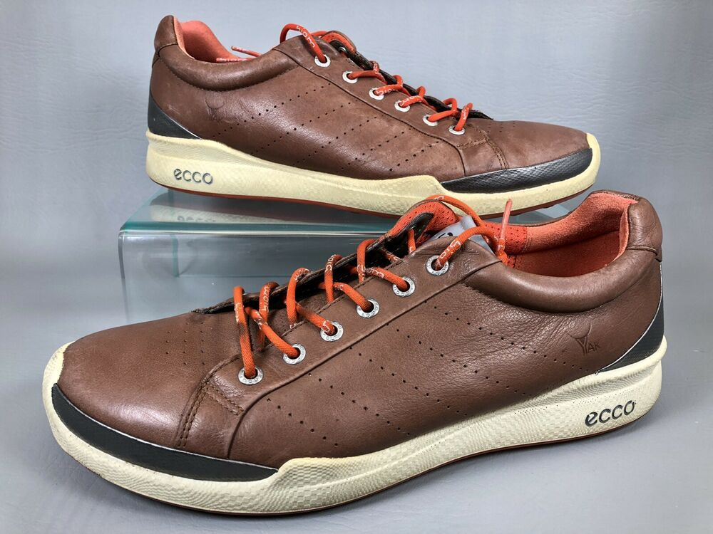 Ad Ebay Ecco Biom Yak Leather Spikeless Golf Shoes Natural Motion Men S 10 5 Eu 44 Golf Shoes Mens Spikeless Golf Shoes Shoes
