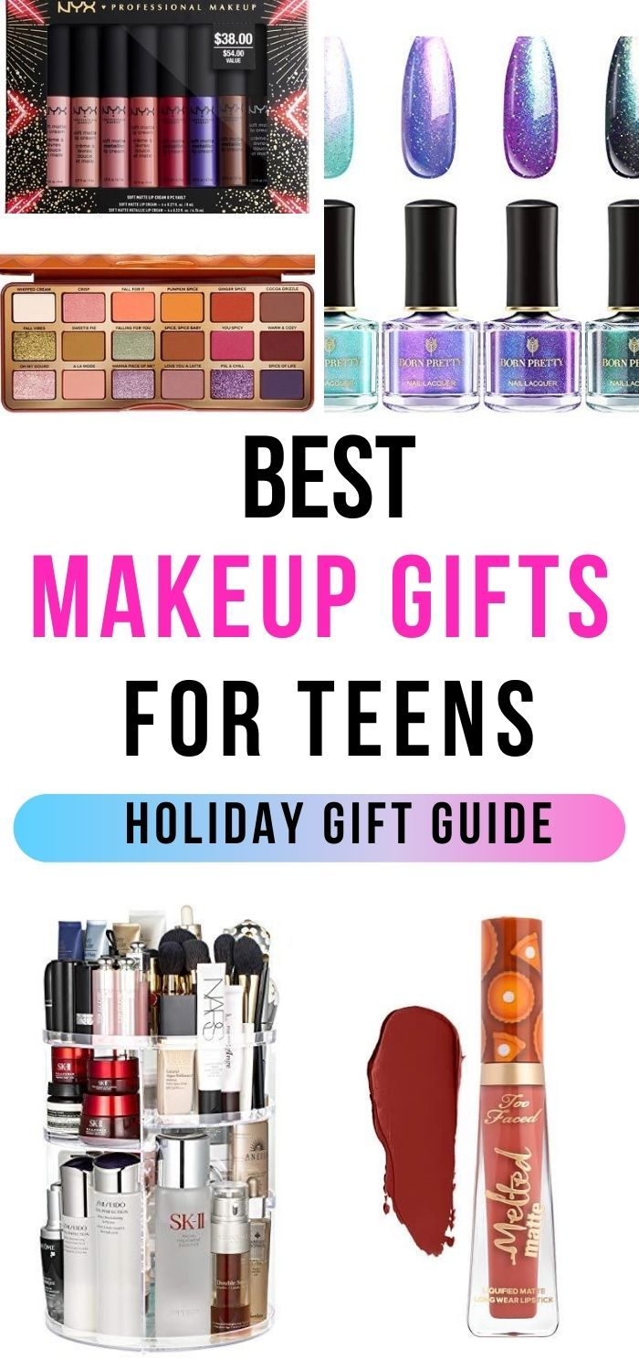 27 Best Makeup Gifts for Teens 2020 in 2020 Makeup gift
