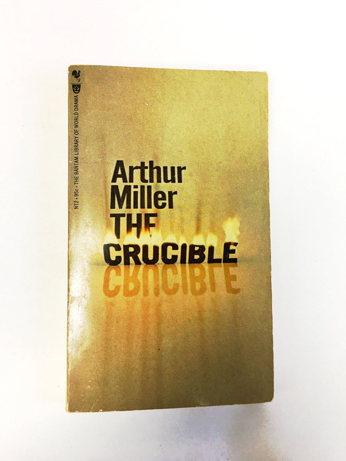 The Crucible by Arthur Miller. Paperback Book. A play in four parts. 1967. Classic Literature