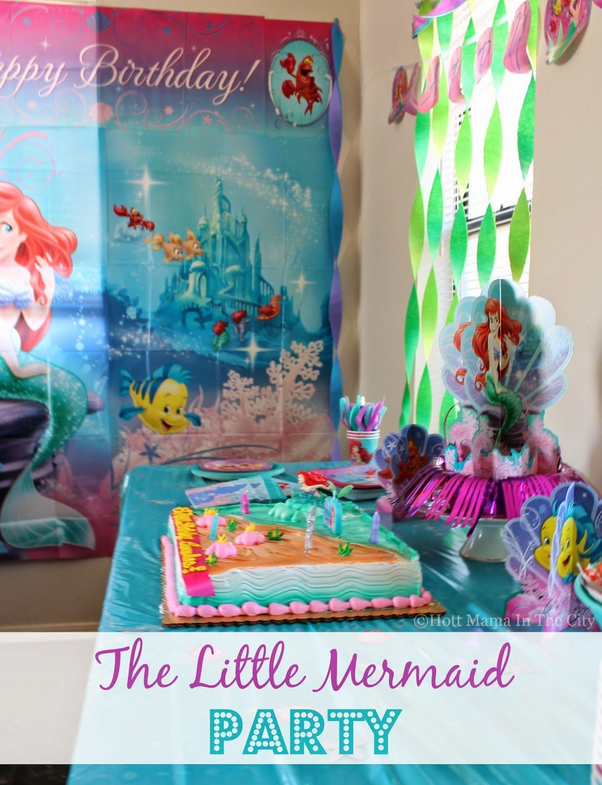 Under The Sea With The Little Mermaid Party Ariel Party