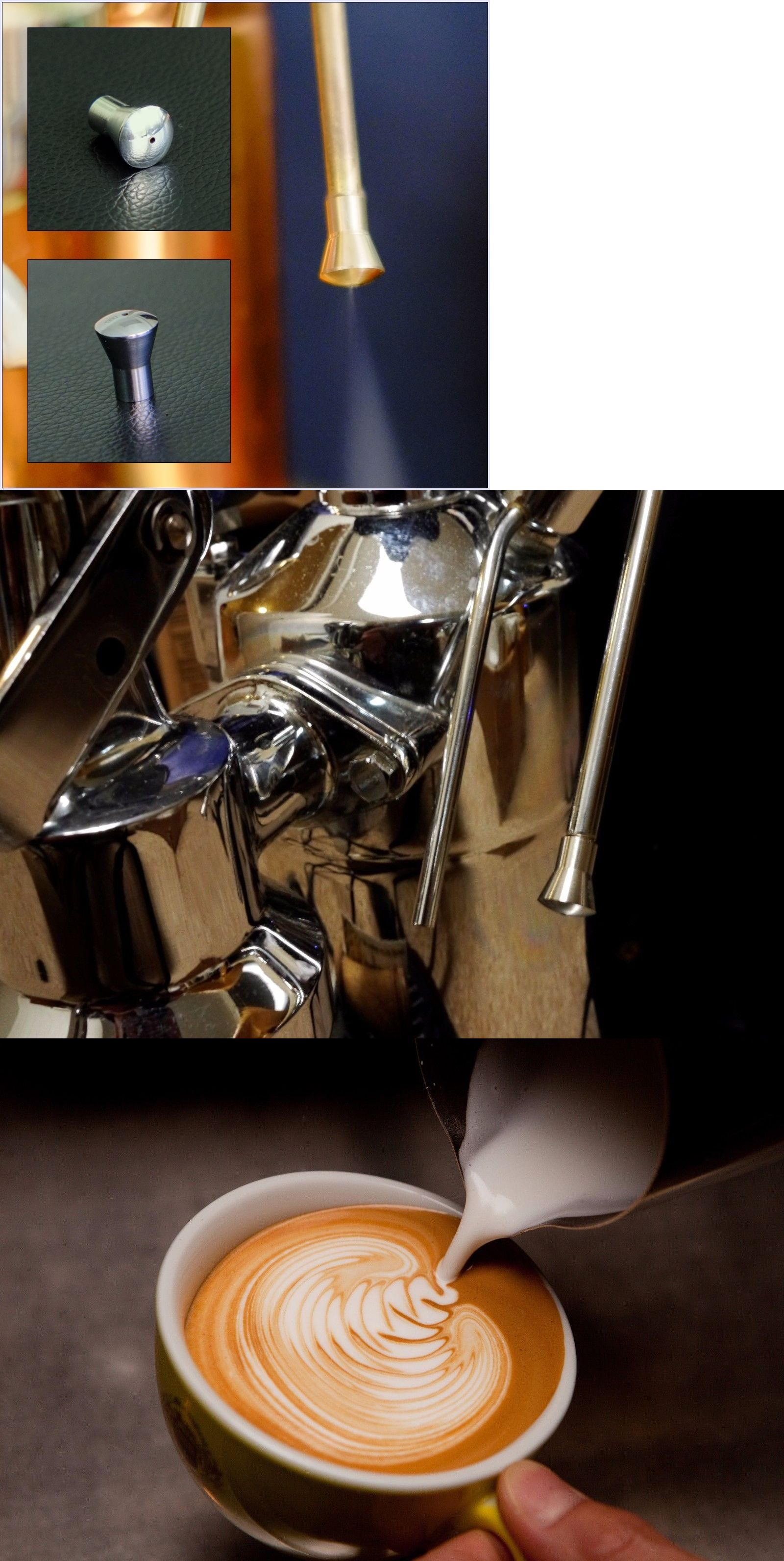 Espresso and Cappuccino Machines 38252 Stainless Single