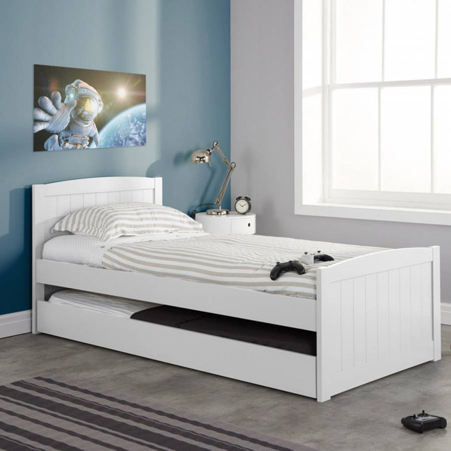 Birlea Beckton Guest Bed White In 2020 Daybed With Trundle