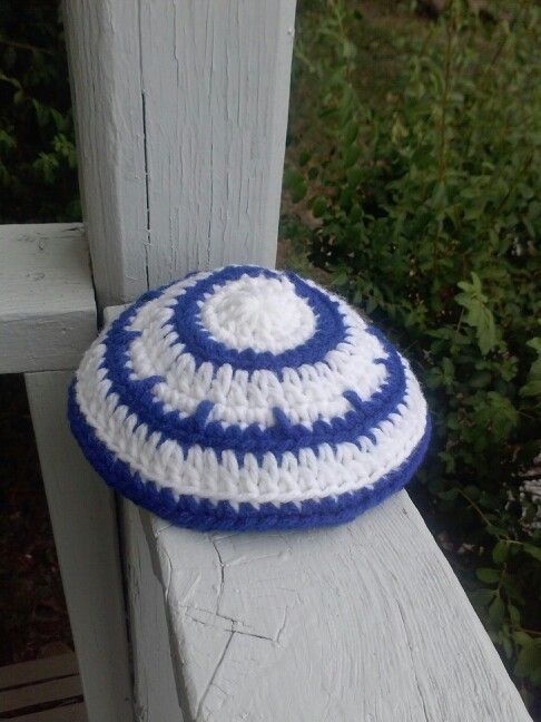 My own kippah pattern.   Crochet-My finished projects   Pinterest