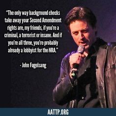 Gun Control Quotes John Fugelsang Gun Control Quote  Politics As Usual  Pinterest .